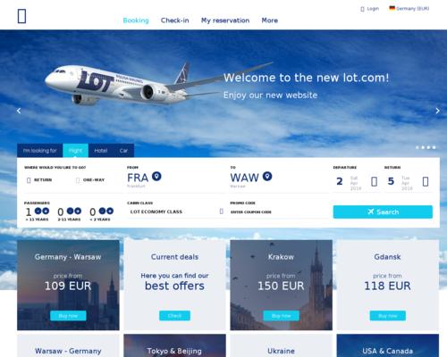 Polish Airlines Screenshot