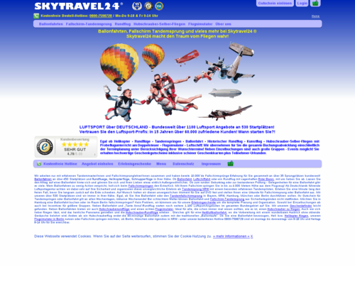 Skytravel24 Screenshot