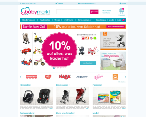 Babymarkt Screenshot