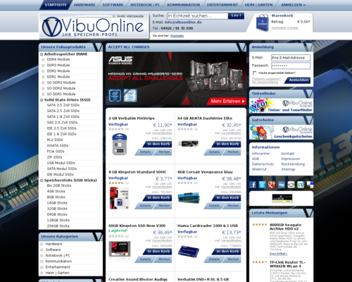 VibuOnline Screenshot