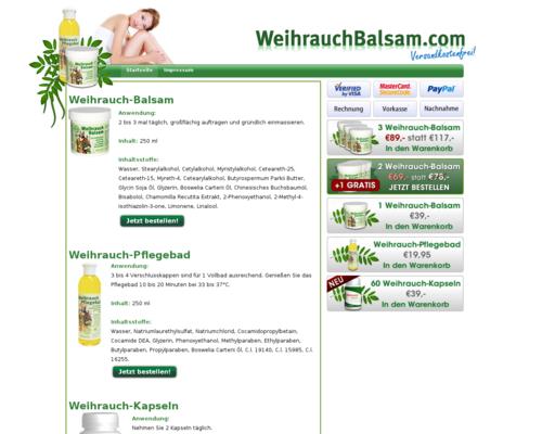 Weihrauchbalsam Screenshot