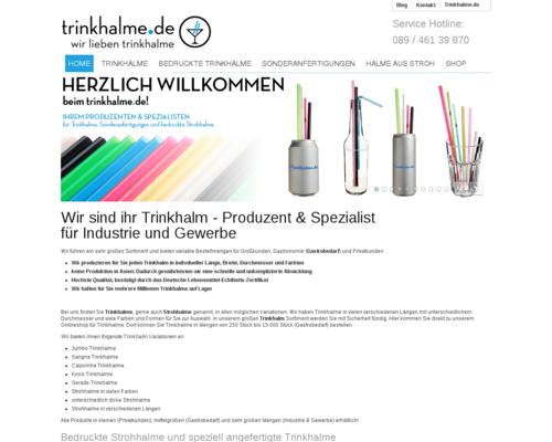Trinkhalme.de Screenshot