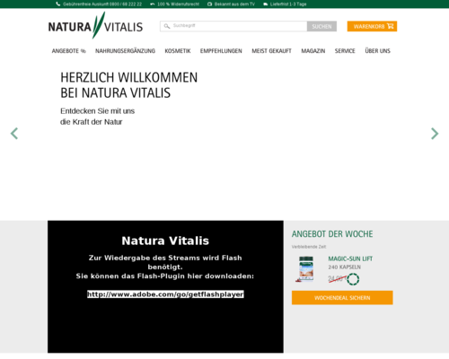Natura Vitalis Screenshot