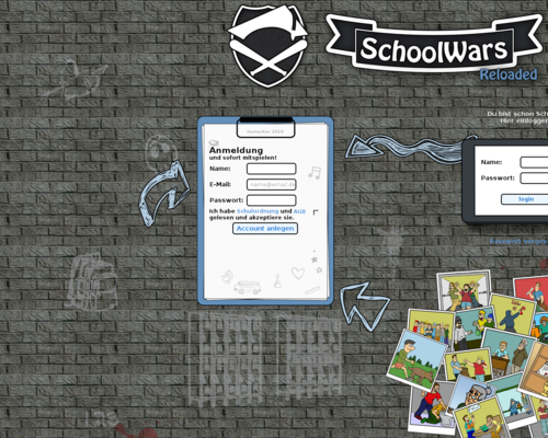 Schoolwars Screenshot