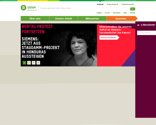 Oxfam Unverpackt Screenshot