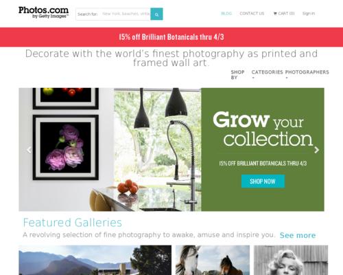 Photos.com Screenshot