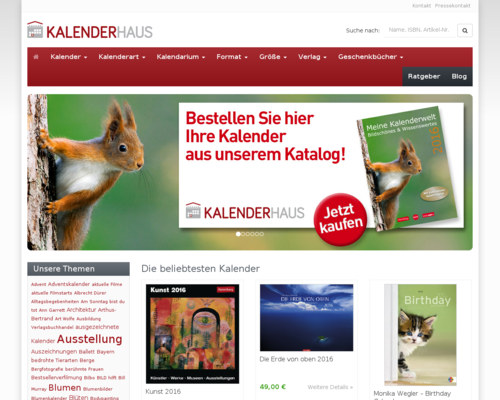 Kalenderhaus Screenshot