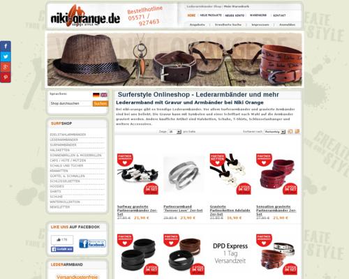 Niki Orange Screenshot