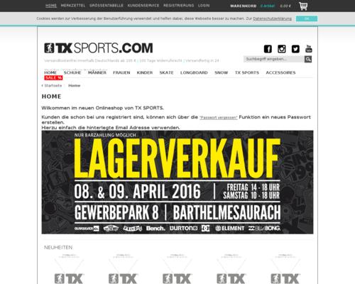 TX Sports Screenshot