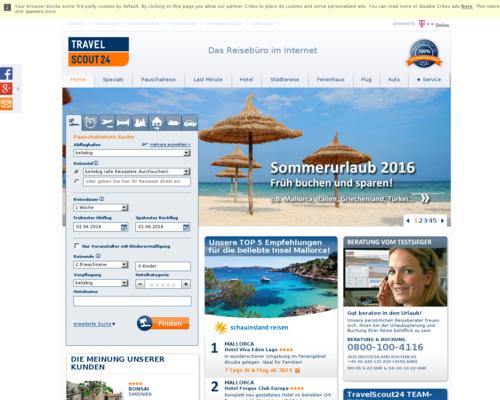 TravelScout24 Screenshot