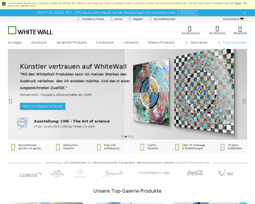 WhiteWall Screenshot