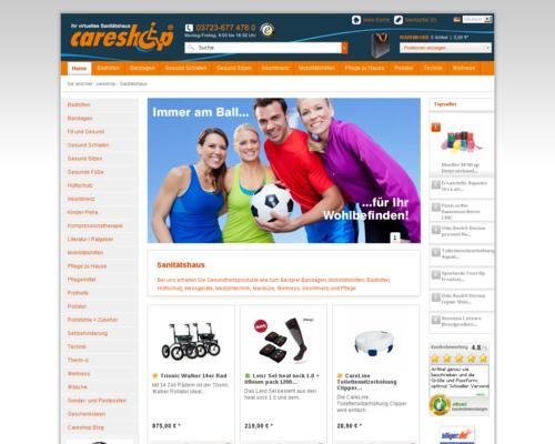 careshop Screenshot
