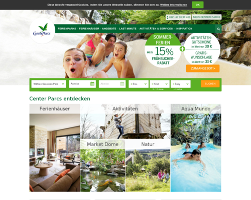 Center Parcs Screenshot