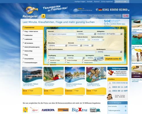 Reisegeier Screenshot