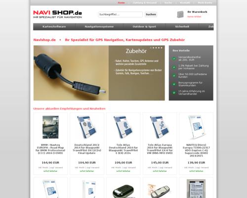 Navishop Screenshot