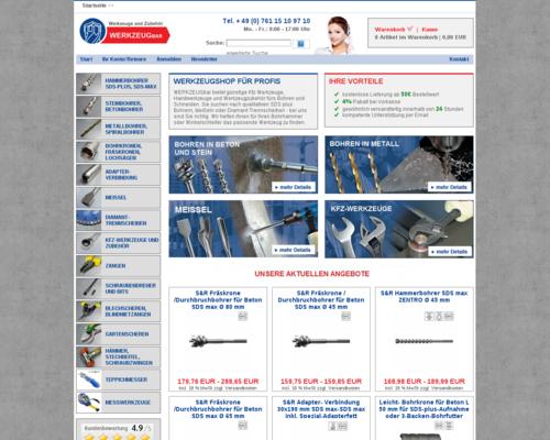 Werkzeugbar Screenshot