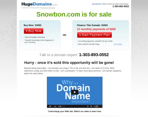 snowbon Screenshot