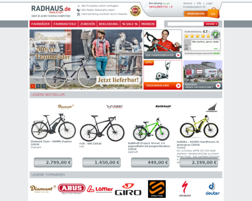 Radhaus Screenshot