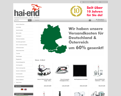 Hai-End Screenshot