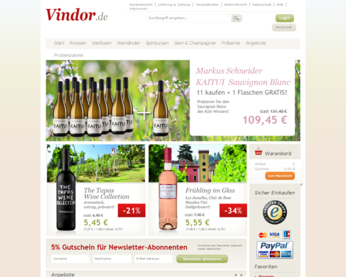 Vindor Screenshot