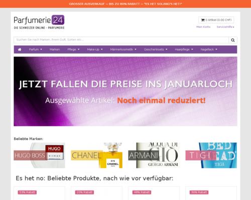 Parfumerie24 Screenshot