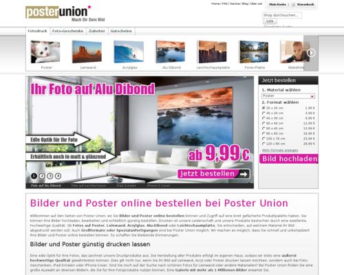 Poster Union Screenshot