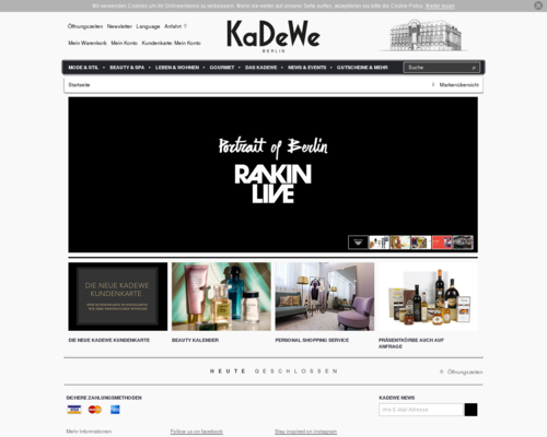 KaDeWe Screenshot