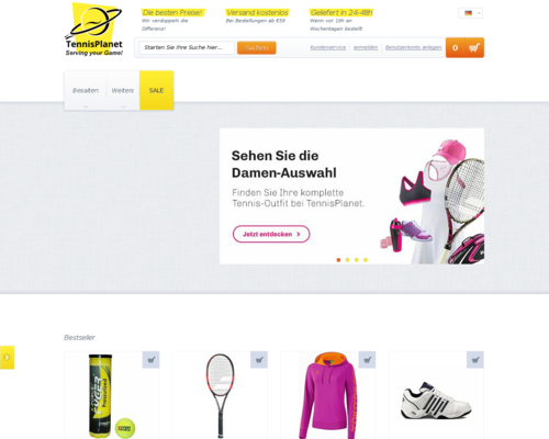 TennisPlanet Screenshot