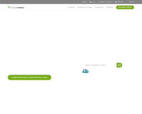 Searchmetrics Screenshot