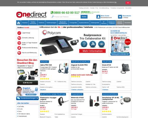 Onedirect Screenshot