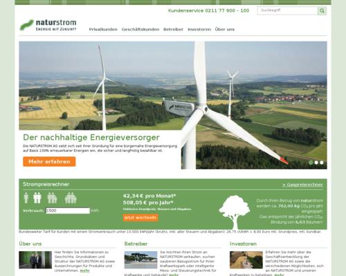 Naturstrom Screenshot