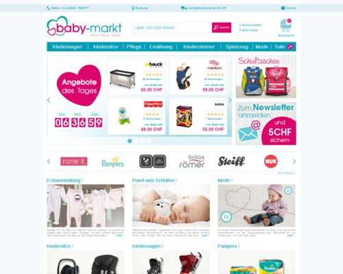 Baby-Markt.ch Screenshot