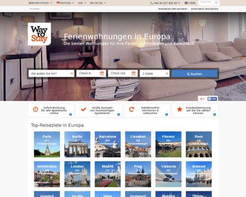 Waytostay gutscheine februar 2018 apartments ab 20 for Boden mode gutscheincode