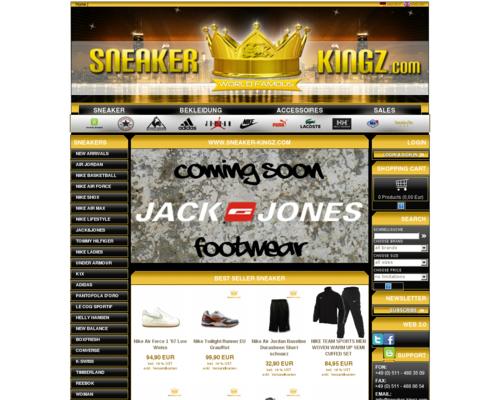 Sneaker Kingz Screenshot
