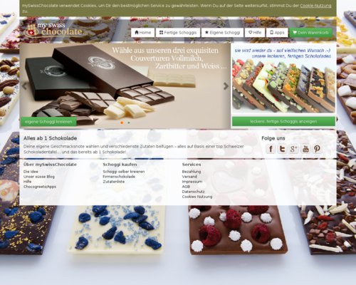 mySwissChocolate Screenshot