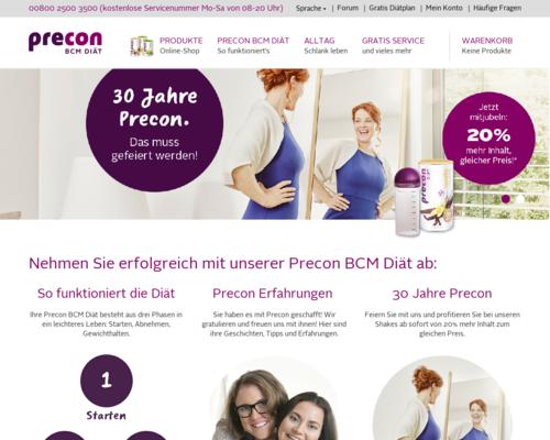 PreCon Screenshot