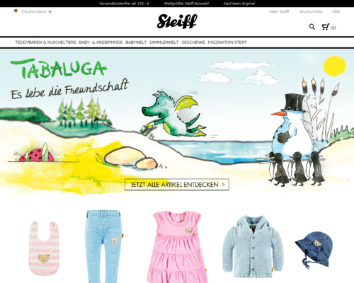 Steiff Screenshot