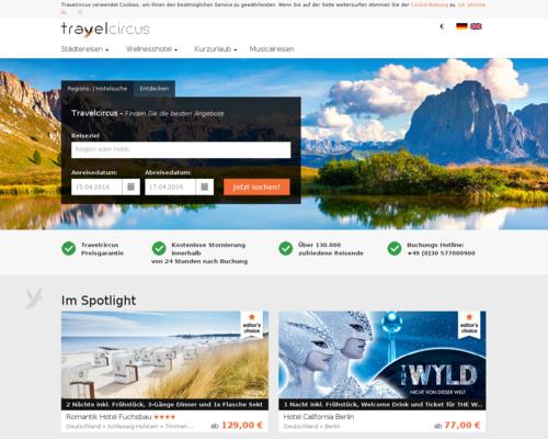TravelCircus Screenshot