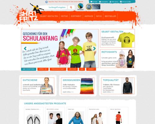 Shirtfritz Screenshot
