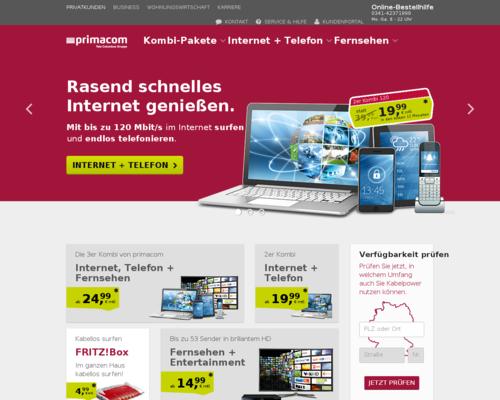 primacom Screenshot