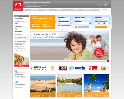 Neckermann Urlaubswelt Screenshot