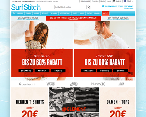 Surfstitch Screenshot