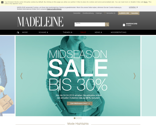 Madeleine Screenshot