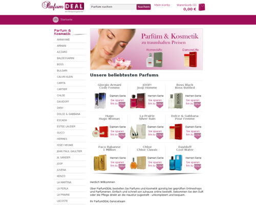 ParfumDEAL Screenshot