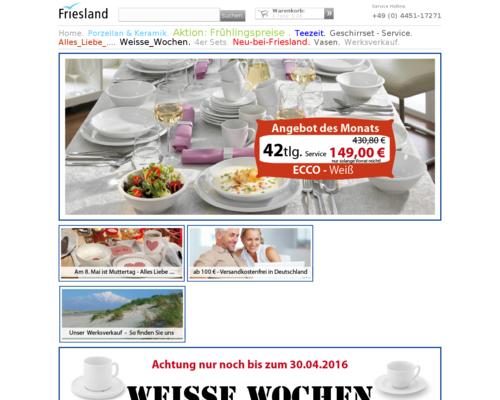 Friesland Versand Screenshot