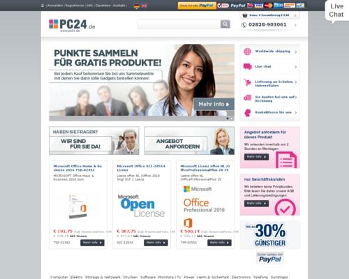 PC24.de Screenshot