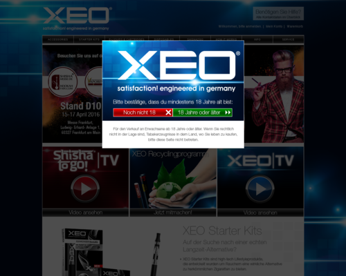 XEO Screenshot