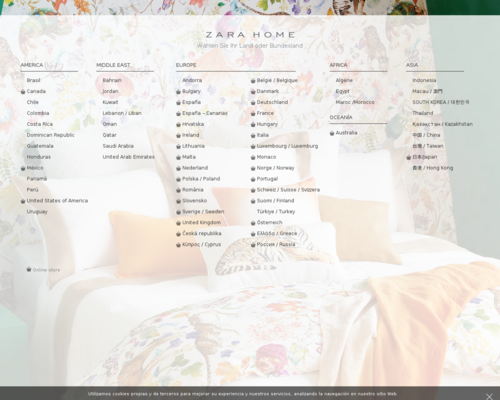 Zara Home Screenshot