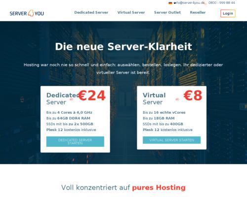 Server4You Screenshot