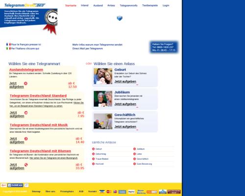 Telegrammdirekt Screenshot